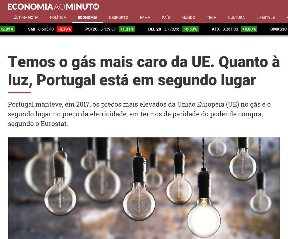 01 - Economia ao Minuto - Temos o gás mais caro d