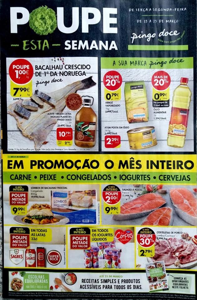 Antevisão folheto Promoções Pingo Doce 19a25mar