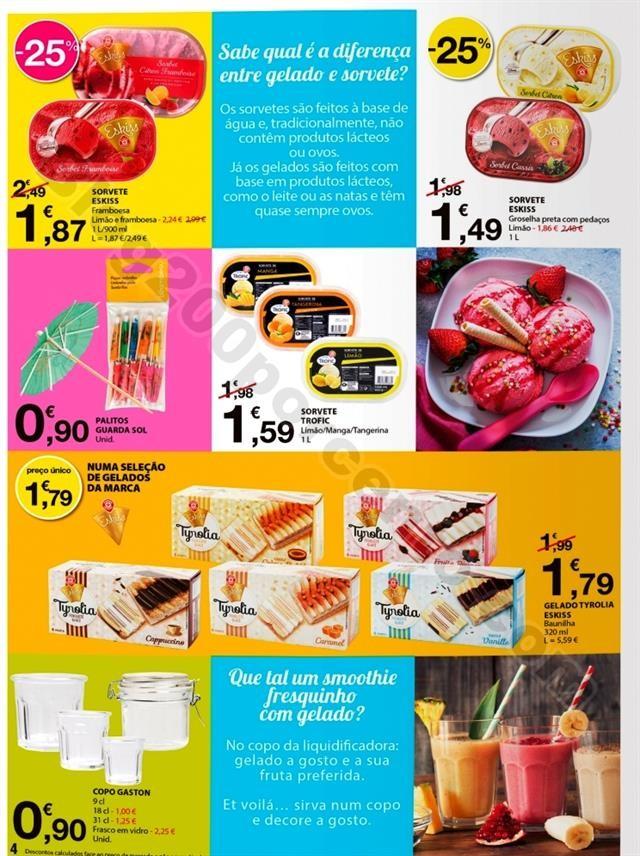 Especial gelados E-LECLERC Promoções de 11 a 23