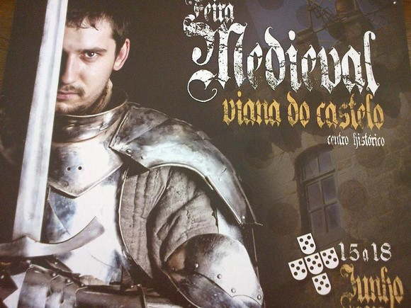 Cartaz Feira Medieval 2012