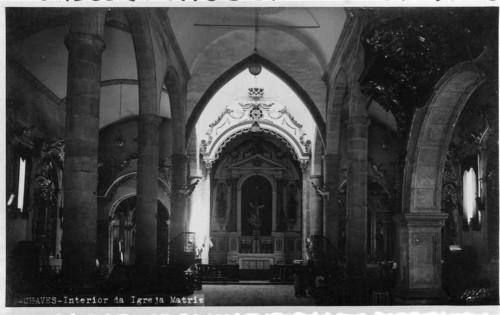 Interior da Igreja Matriz de Chaves