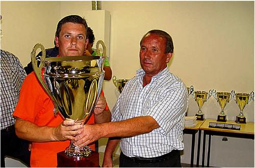 Vitor Ribeiro sagrau-se novamente campeão.