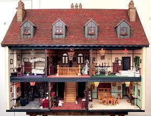 A casa das bonecas de um outro dia...