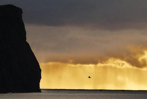O Monte Brasil, em mais uma imagem excelente captada pelo nosso RL...