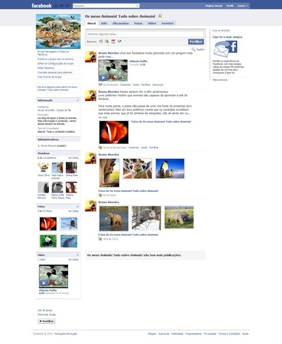 Os meus Animais! Tudo sobre Animais! - Clube de Fãs - Facebook