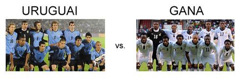 Uruguai vs Gana