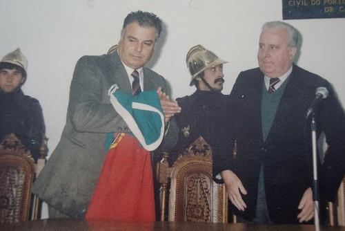 Sr. António Ferreira Camilo, Presidente de Junta de Freguesia de Boelhe