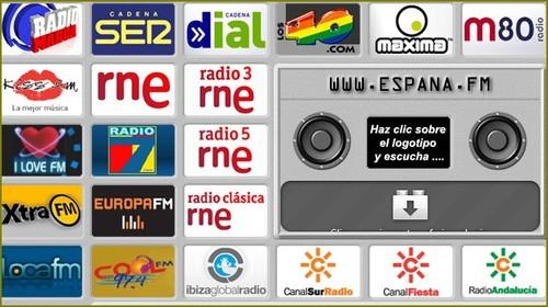 estações de radio espanholas
