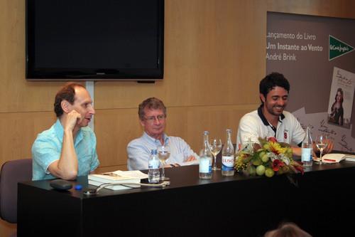 Richard Zimler, André Brink e Luís Corte Real