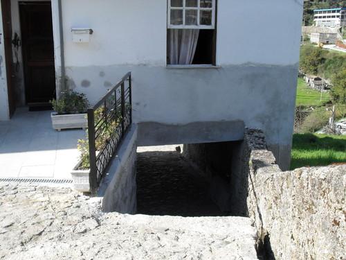 A porta de casa