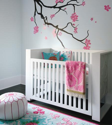 Modern Nursery Rug: Decoração Quarto Bebe
