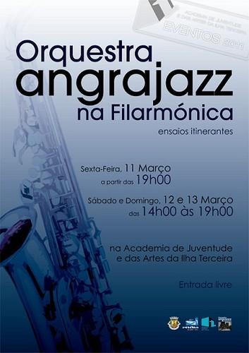 AngraJazz ensaia na Academia das Artes...