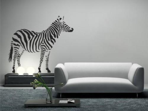 Decoração zebra