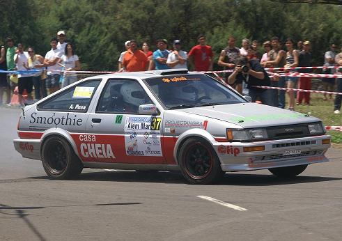 O bonito Toyota Corolla GT de Jorge Sousa...
