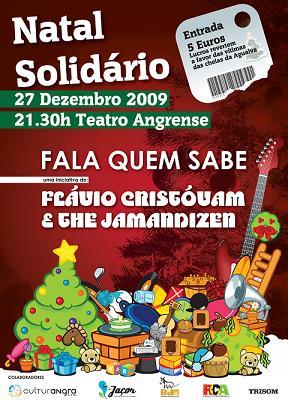Solidariedade para com os sinistrados do mau tempo na Agualva. Amanhã, no Teatro Angrense...