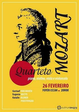 Mozart, amanhã à noite no CCAH...