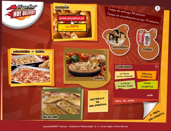 pizza hut pt