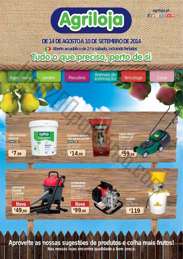 Novo Folheto AGRILOJA Promoções até 10 setembro