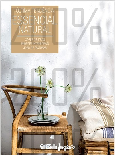 Novo folheto | EL CORTE INGLÉS | até 31 agosto