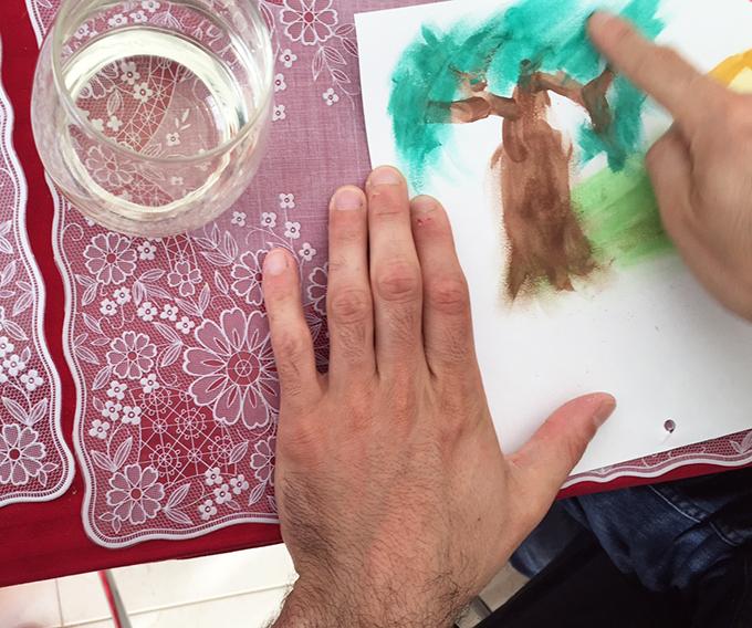 pintar com aguarelas 3