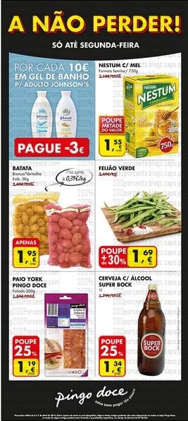 Novo Folheto   PINGO DOCE   A não Perder - de 3 a 7 abril