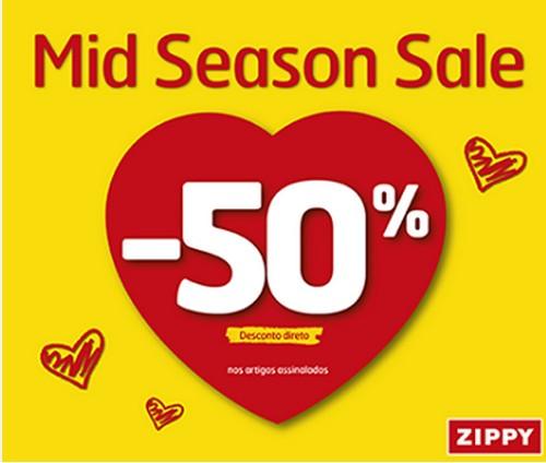 50% de desconto   ZIPPY   até 11 maio