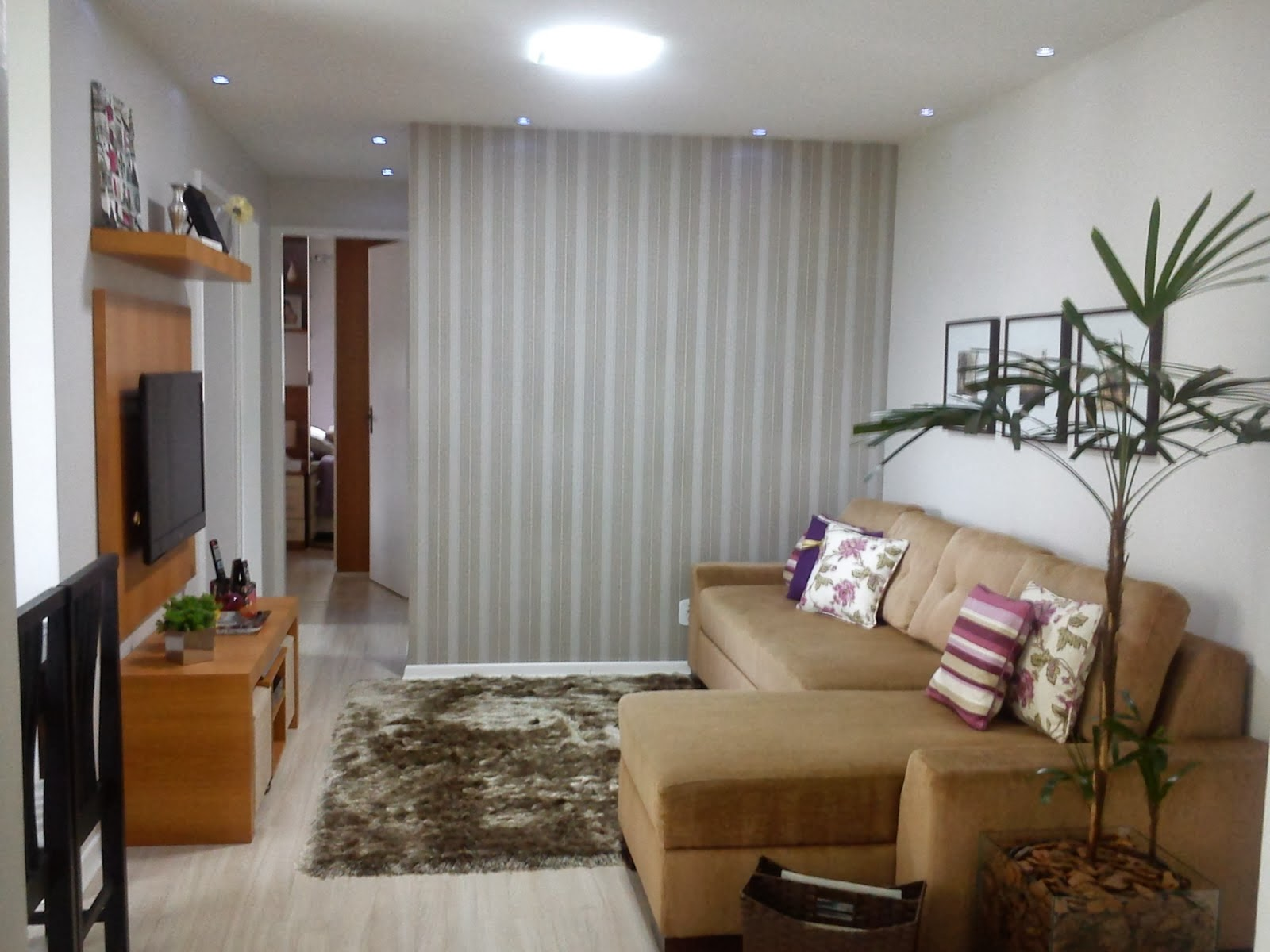 Uma Sala Pequena Decorada ~ Dicas para decorar uma sala pequena  Decoração e Ideias